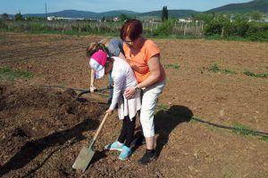Garten der Begegnung - mitmachen bei der Gartenarbeit