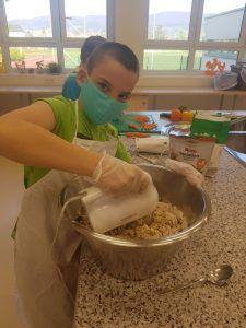 Kochen in der Schule